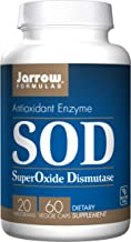 Jarrow Formulas Jarrow Superoxide Dismutase Sod 20mg 60 Vegetarian Capsules 1 Units Estimated Price : £ 19,76