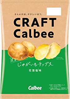 カルビー じゃがいも チップス花藻塩味 65g×12袋