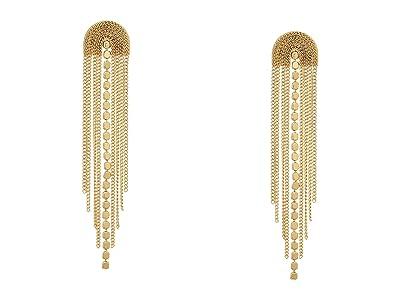 SHASHI Golden Waterfall Earrings (Gold) Earring
