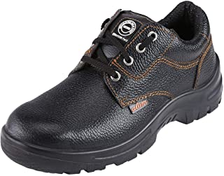 ACME Men's Atom Leather Safety Shoes Black
