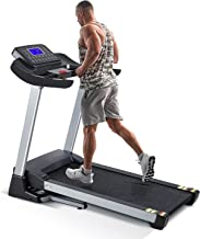 Treadmill with 15% Auto Incline,3HP Folding Electric Treadmill, 10 MPH Max Speed Running Machine with 300 LBS Weight Capac...