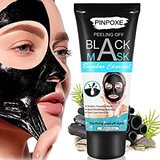 Blackhead Remover Mask, Peel Off Blackhead Mask, Black Mask - Deep Cleansing Facial Mask,helpful with Face & Nose