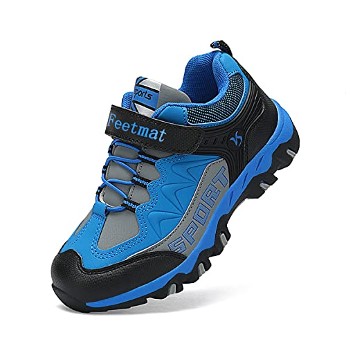 7ae3a37ee57f Feetmat Boys Hiking Shoes Waterproof Kids Sneaker