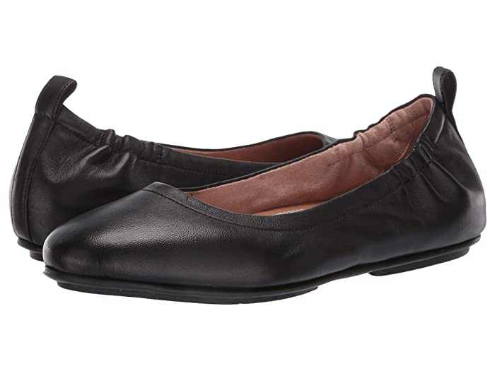 FitFlop  Allegro (Black) Womens Flat Shoes