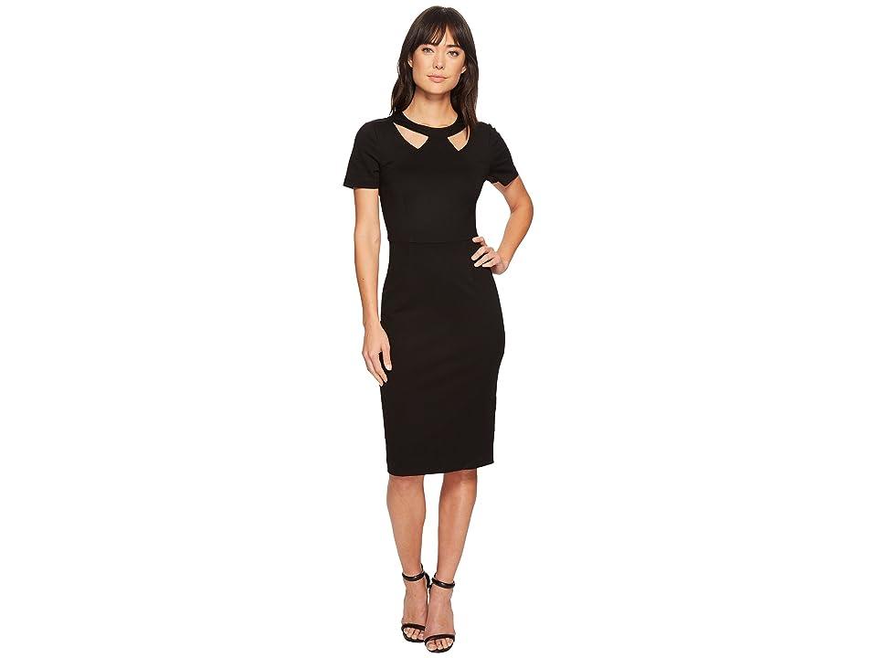 Trina Turk Caladium Dress (Black) Women