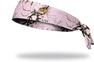 JUNK Brands Flex Tie Mountains Headband, Realtree Xtra Pink, Regular