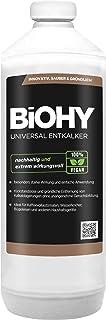 BiOHY Descalcificador universal (1 botella de 1 litro)   Concentrado para 20 procesos de descalcificación  Compatible con cafeteras, como DELONGHI, PHILIPS (Universal Entkalker)