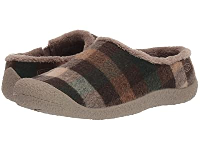 Keen Howser Slide (Brown Plaid/Brindle) Women
