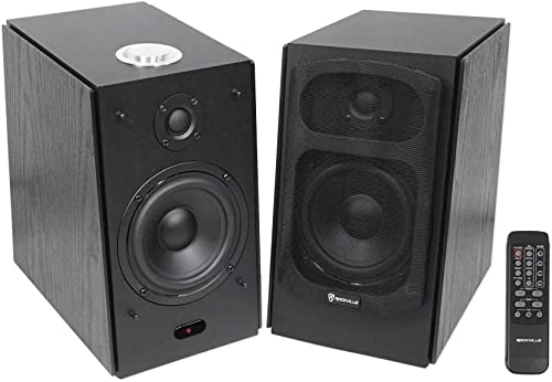 high quality Rockville online sale HD5B 150w Black Home Theater System sale Bookshelf Speakers/Bluetooth/USB outlet sale