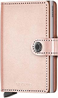 Secrid Miniwallet Metallic Rose Leather Wallet SC5519