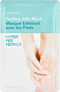 The Face Shop Smile Foot Peeling Jelly Mask 40 Ml, 40 ml