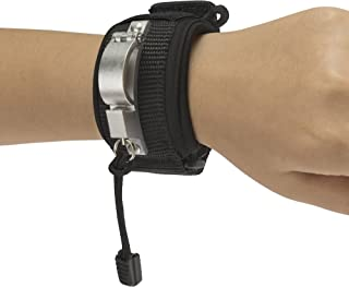 LIBERTY WRISTBAND (BLACK) - Innovative Wristband For Dog Walking Attaches To Any Dog Leash Converting It Into A SUPER LEASH With Safety, Comfort And Hands Free Control