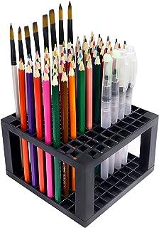 YOUSHARES 96 slots Pencil Holder - Desk Stationary Standing Organizer Holder, Perfect for Pen/Pencil, Paint Brush, Gel Pen...