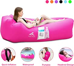 FRETREE Inflatable Lounger Air Sofa Hammock - Portable...