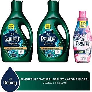 Downy Libre enjuague Suavizante de telas Natural Beauty 5.6 L + Floral 800 ml