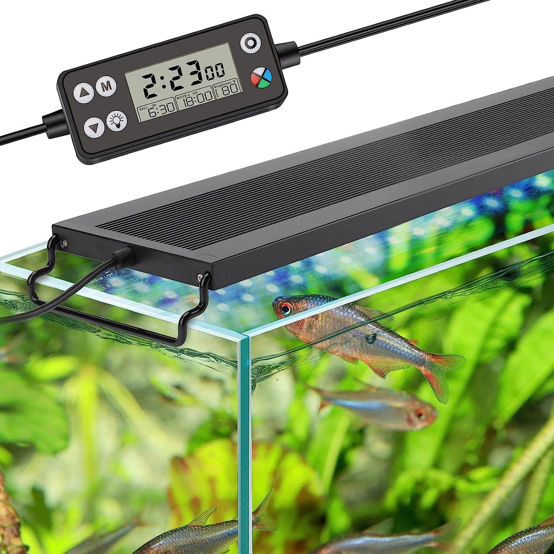 hygger Auto On Off LED Aquarium Spectrum Tank Max 47% OFF Full 2021 spring and summer new L Fish Light
