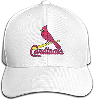St. Louis Cardinals セントルイス カージナルス MLB 通気性抜群 日除け UVカット 紫外線対策スポーツ帽子,男女兼用 速乾 軽薄 日よけ野球帽,登山 釣り ゴルフ 運転 アウトドアなど