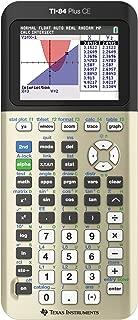 Texas Instruments TI84PLSCEGOLD TI-84 Plus CE Graphing Calculator, Gold
