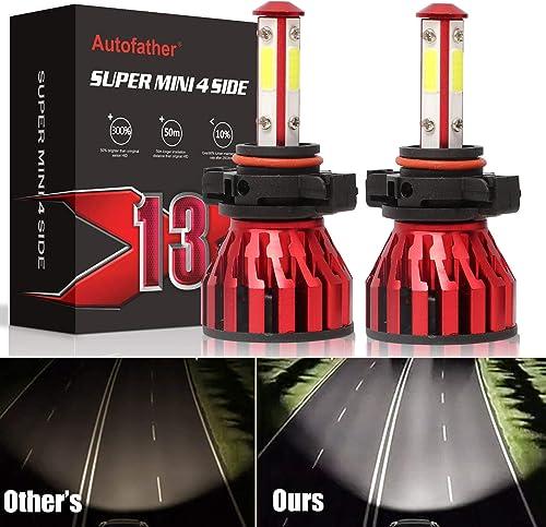 lowest 5202 LED Fog Light Bulbs Super Bright 5201 H16 Bulb 120W 4-Side Chips wholesale 360 Degree Lighting 6000K Cool lowest White, 5 Year Warranty online