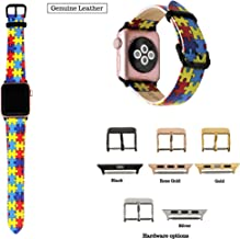 Autism Awareness Band Compatible with Apple Watch 38mm, 40mm, 42mm, 44mm, Autism Awareness, Autism Gift, Autism Puzzle, Ships same day if ordered by 12pm PST