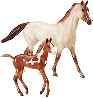 Best Breyer Freedom Series (Classics) Running Wild 2 Horse Set   Model Horse Toy   1:12 Scale (Classics)  Model #62204 Review
