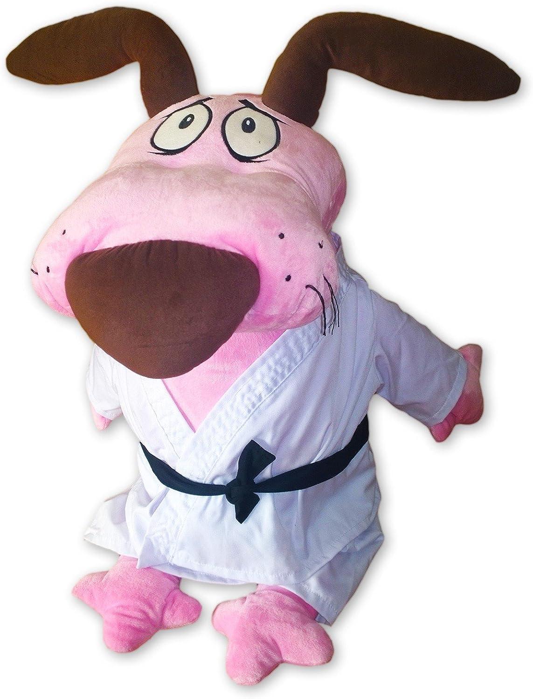 Cartoon Network Plüsch Courage der Feige Hund 75cm Kleid Karateka