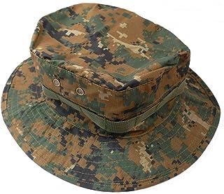 Us Army Style Boonie Bush Hat Marpat Digi Woodland Invader Gear Airsoft Uniform