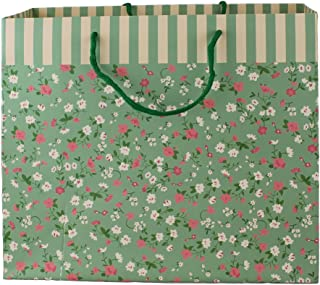 148 Geschenktaschen rosa grün aprikot farbig mit Spruch 3 er sort 6 Stück Nr