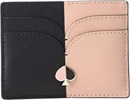 Nicola Bicolor Card Holder