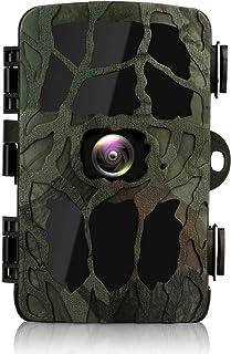 BYbrutek Cámara de Caza 20MP 4K HD Cámara de Vigilància de la Vida Silvestre Activada por Movimiento con 40 PCS 850nm LED IR Visión Nocturna de Hasta 25M LCD de 2.4 Pulgadas