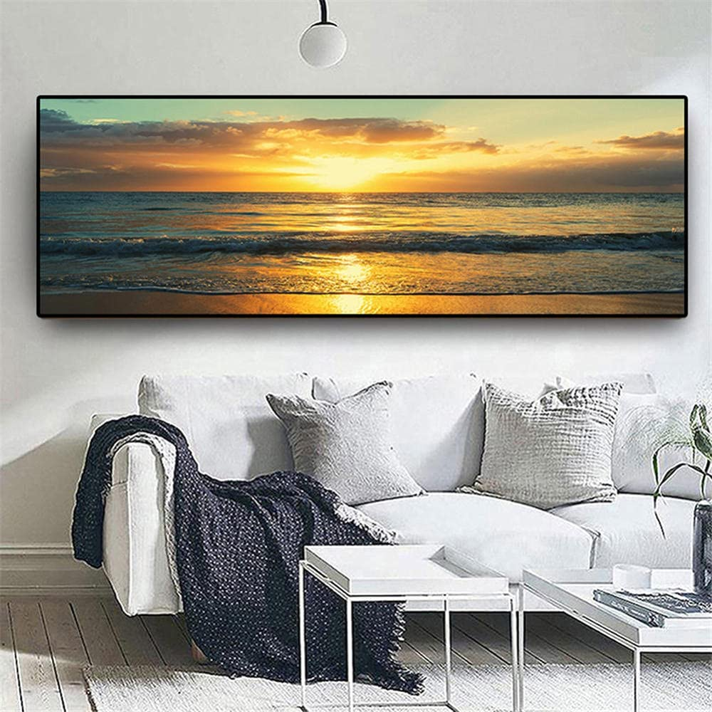 DIY 5D Diamond Painting by Drill Full Number Spring new work Surprise price Sunset Kits