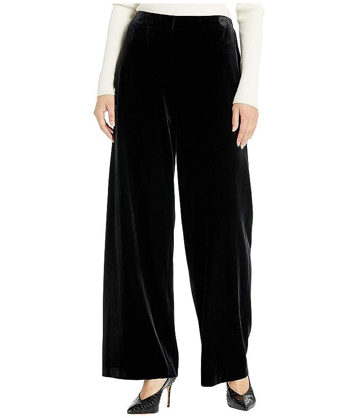 Did Women Wear Pants in the 1920s? Yes! sort of… Alex Evenings Basic Velvet Pants Black Womens Casual Pants $79.00 AT vintagedancer.com