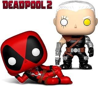Funko Pop Marvel Deadpool Parody Deadpool and Cable Action Figure Bobble Toys