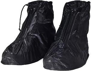 HSEAMALL Ochraniacze przeciwdeszczowe, ochraniacze na buty, wodoodporne, na buty outdoorowe, antypoślizgowe, ochrona przed...