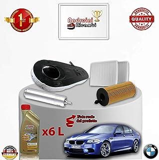 MG BMW LAND ROVER ROVER GROUP febi bilstein 26688 filtro olio con anelli tenuta