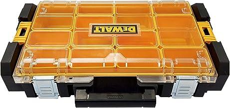 DeWalt Tough Box DS100 Gereedschapskist (organizer voor kleine onderdelen en accessoires, stof- en waterdicht volgens IP5...