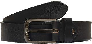 MNH Men's Genuine Raw Leather Belt