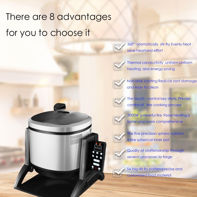 Robot de Cocina automático para Cantar, Restaurante, Replace Chef: Amazon.es: Hogar