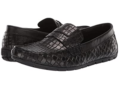 Born Andes (Black Embossed Full Grain Leather) Men