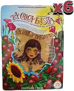 La Chica Fresita - Automotive Air Freshener (Strawberry) - 6 Piece