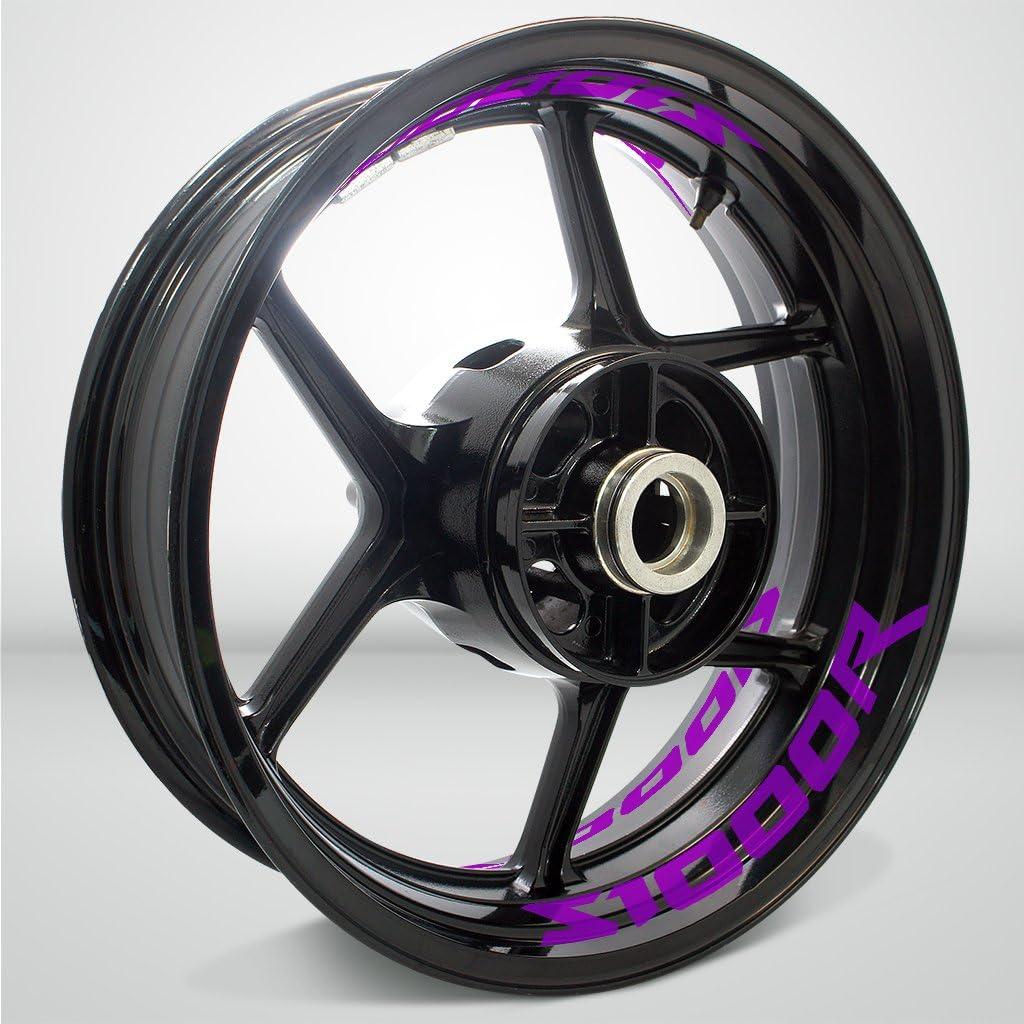 Stickman Popular overseas Vinyls Matte Purple Motorcycle Sticker Tape 25% OFF C Inner Rim