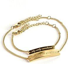 Girls or boys newborn babytoddlers and childrens Aluminum bracelet