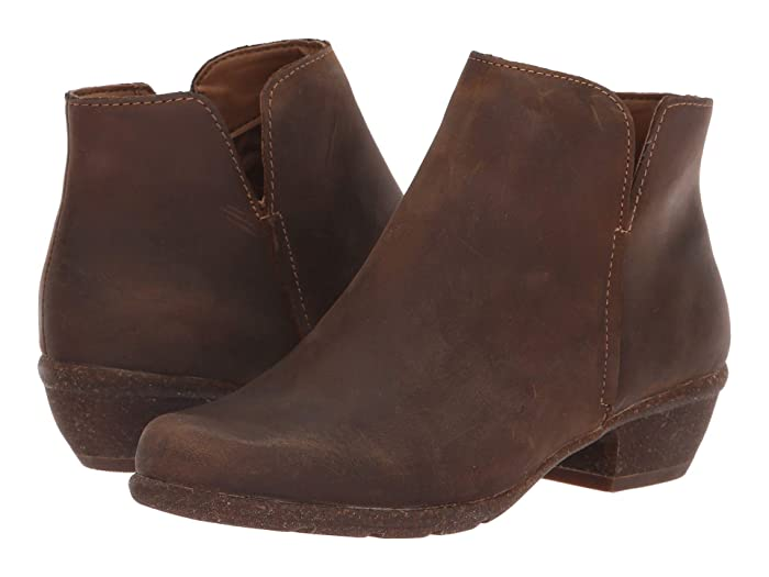 Clarks  Wilrose Frost (Tan Oiled Leather) Womens  Shoes