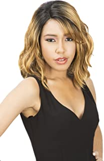 (1) - New Born Free Synthetic Lace Front Wig Curved Part Magic Lace MLC 175 (1)