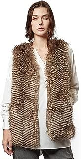 Best women's brown fur vest Reviews