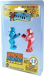 Worlds Smallest Rock Em Sock Em Robots Actually Works