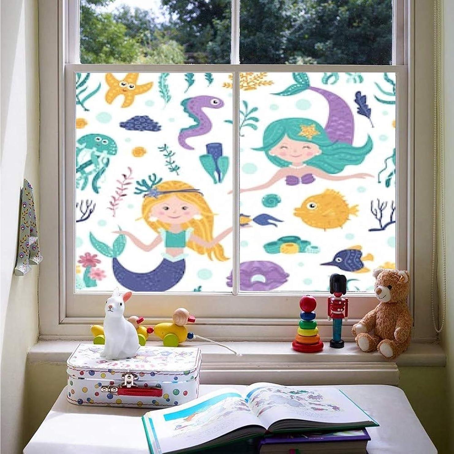 投資する中止します目覚める窓フィルム 目隠しシート 窓ガラス 遮光シート 美術の窓 飛散防止フィルム かわいいMeimass、海藻、魚とのシームレスなパターンベクトルイラスト uv ガラスフィルム 窓際のトットちゃん 断熱シート マジックミラー フィルム 透明 かわいい 窓ぼかし シェード 窓用かんきせん 紙シール