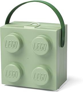 LEGO® Lunch Handle Portable Storage Box, Sand Green