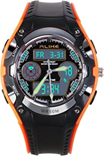 Gokelly Kids Watch Boys Sports Waterproof Led Digital Watches With Alarm Wrist Watch For Boys Girls Childrens