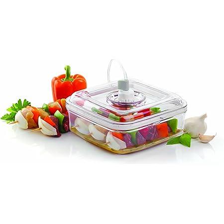 FoodSaver FSFSMA0050-050 Boîte alimentaire spéciale marinade pour appareil de mise sous vide 2,1 L Transparent